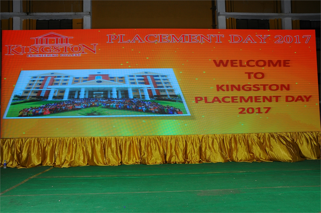 Kingston engineering college, placement day 2017